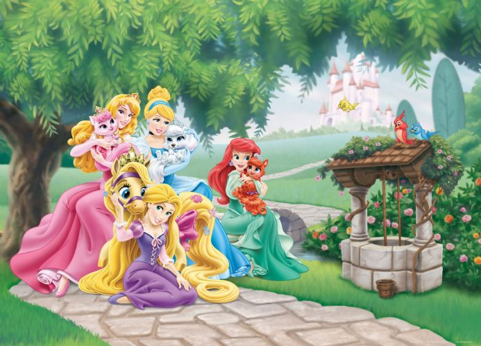 Princesses Small Premium wall murals | Buy it now